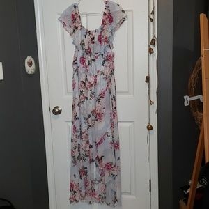 Never worn Torrid Size 3 chiffon floral dress